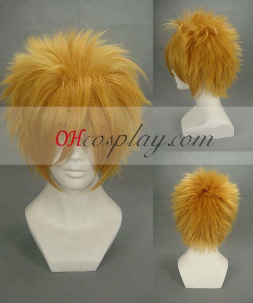 Kingdom Hearts Roxas Yellow Cosplay Wig