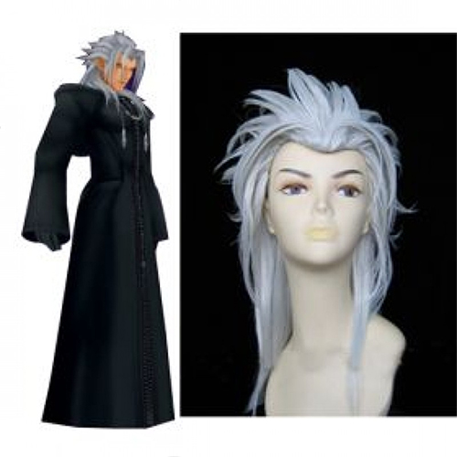 Kingdom Hearts Organisation XIII Xemnas Cosplay peruukki