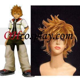 Kingdom Hearts II Roxas udklædning Paryk