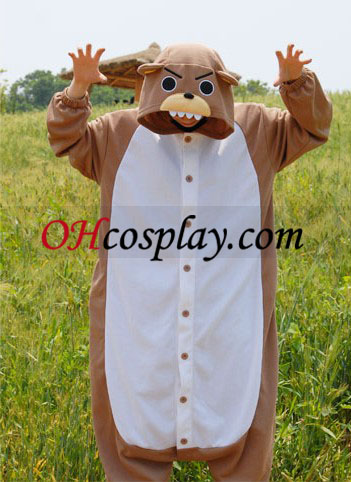 Sweet Bear Kigurumi Costume Pajamas
