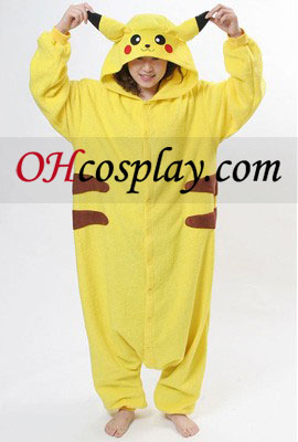 Pikachu Halloween Kigurumi Costume Pajamas