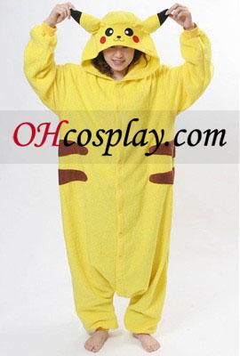 Pikachu jelmezben Halloween Kigurumi pizsama