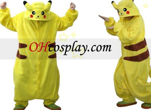 Pikachu Halloween Kigurumi костюм пижами