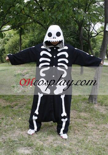 Human Skeleton Kigurumi Costume Pajamas
