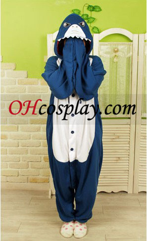 Акула Kigurumi костюм пижами