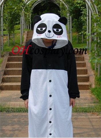 Сладки Kongfu Панда Kigurumi костюм пижами