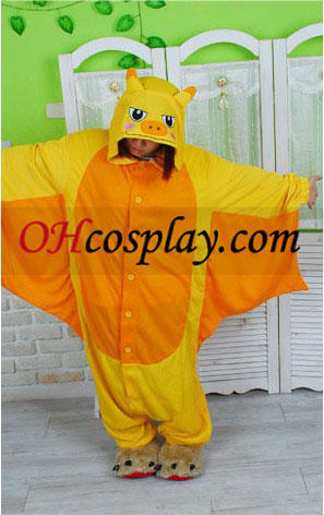 Golden Bat Kigurumi Costume Pajamas