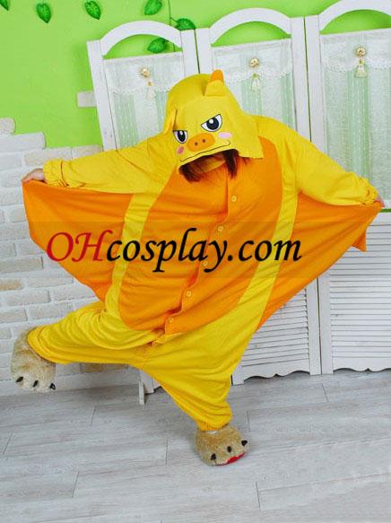 Златист нощник Kigurumi костюм пижами