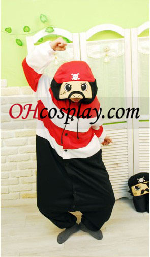 Pirate Kostüm Kigurumi Pyjamas