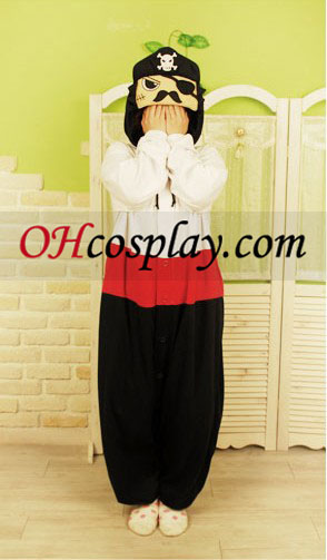 Pirate Captain Kigurumi Pijamas Traje