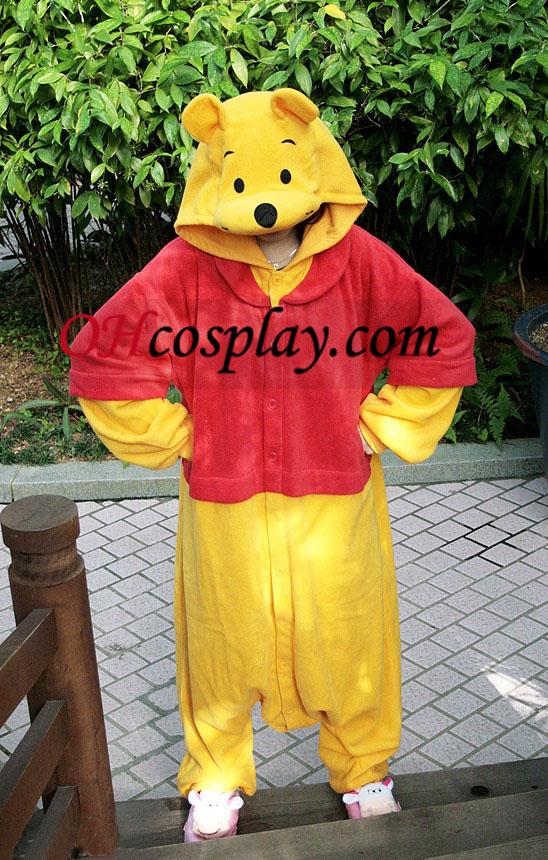 The Pooh Weenie Kigurumi Traje Pijamas