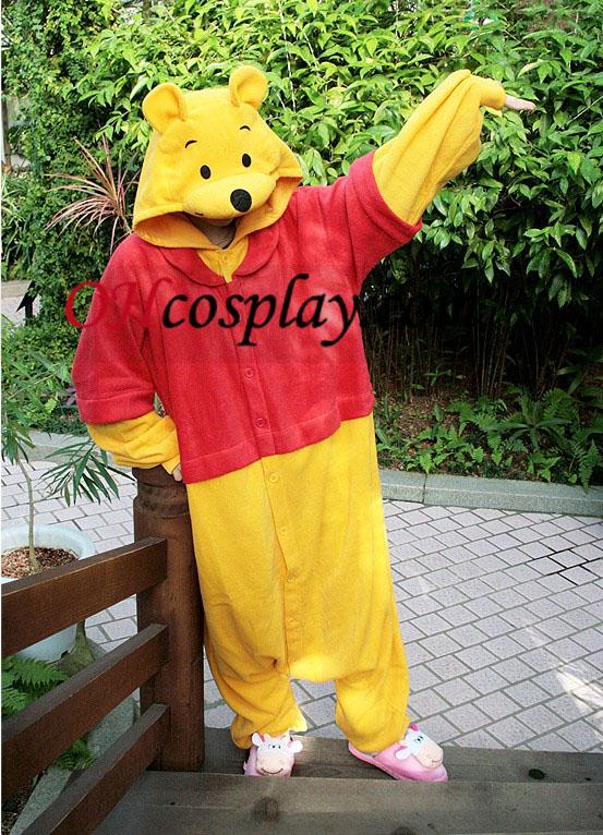 Weenie Plys Kigurumi Kostume Pyjamas