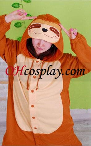Мързел Мими маймунката Kigurumi костюм пижами