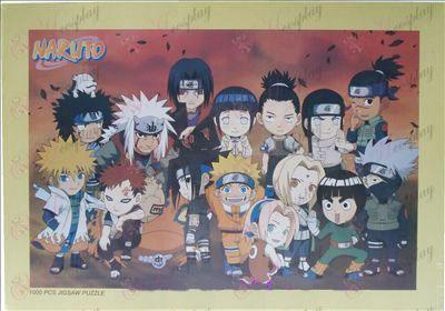 Naruto puzzle 1131 (žltý rámček)
