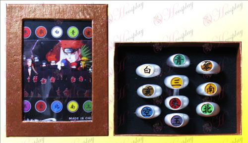 Naruto Xiao Ring Set (10)