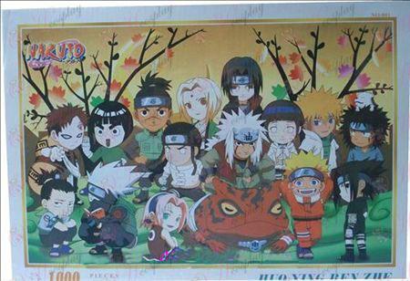 Naruto jigsaw NO-801