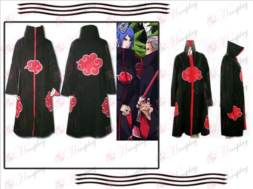 Naruto cloak (with lining with zipper)