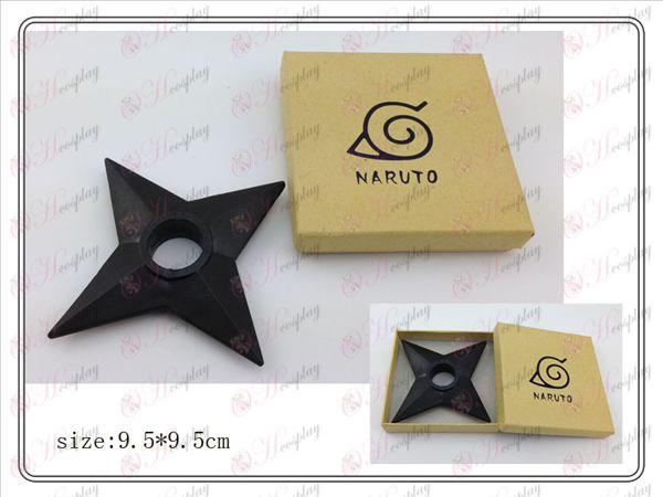 Naruto Shuriken boîte en plastique classique (noir)