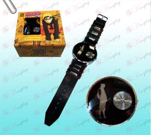 Naruto Sasuke svart klokker