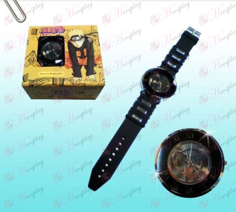 Naruto kakashi write round eyes black watches