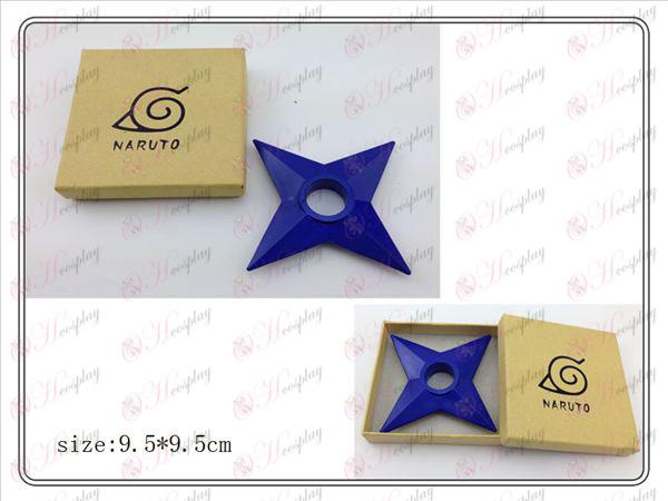 Naruto Shuriken boîte en plastique classique (bleu marine)