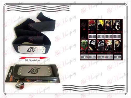 En generation av Naruto Xiao Organisation ring + Headband (Kiba)