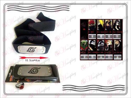 En generation af Naruto Xiao Organization ring + Headband (Kiba)