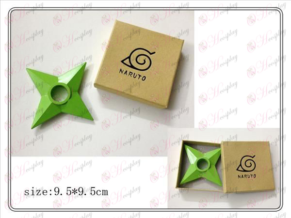 Naruto classic boxed hands (green) plastic