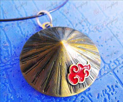 Naruto Xiao Organizácia klobúk náhrdelník