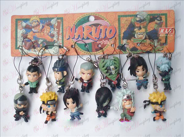 12 Naruto Doll Machine kötél (12 / set)