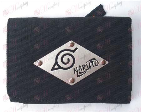 Naruto konoha Tiepai canvas portemonnee