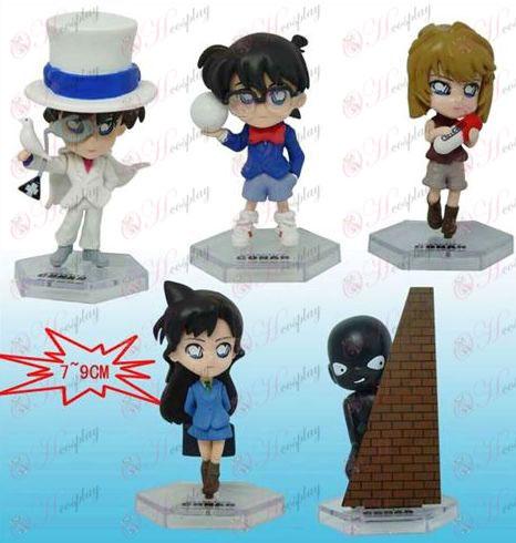 10 on behalf of five models Conan white doll Q version