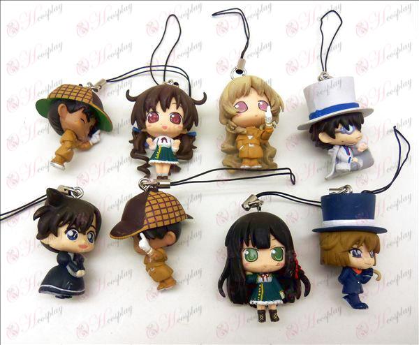 Originálne Conan bábika stroj lano (4 cm)