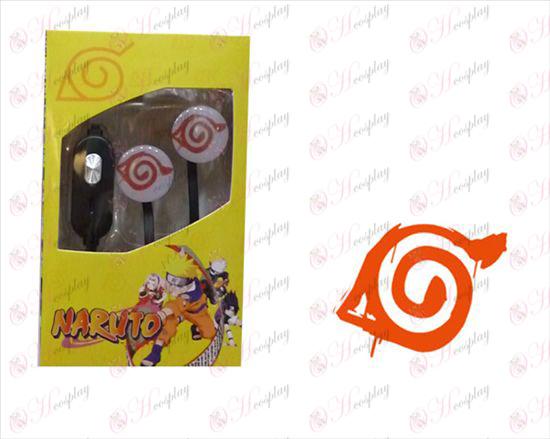 Flat line can voice headset - Naruto konoha mark