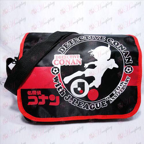 Conan red plastic bag gifted korea