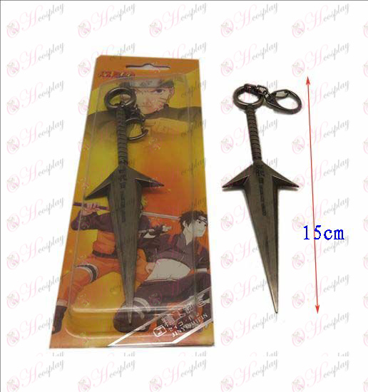 D Naruto four generations present knife buckle (gun color)