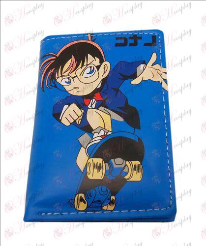 Conan fach Leder Brieftasche