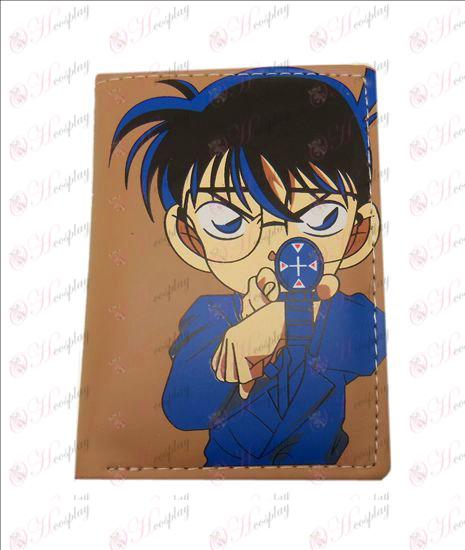 Conan fold leather wallet