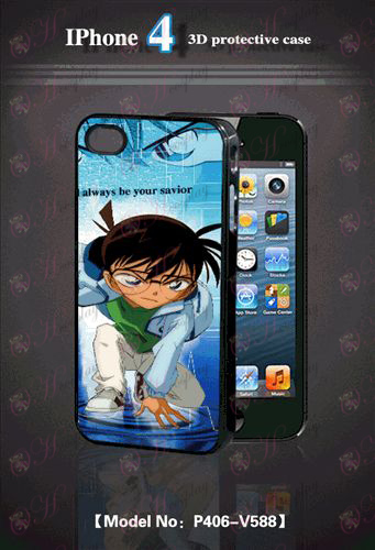 3D mobile phone shell Apple 4 - Conan