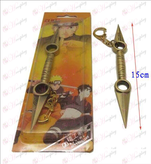 D Naruto knife buckle (Bronze)