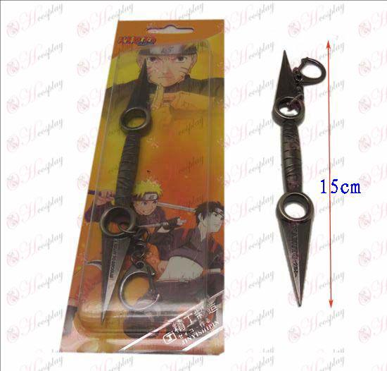 D Naruto kniv spænde (pistol farve)