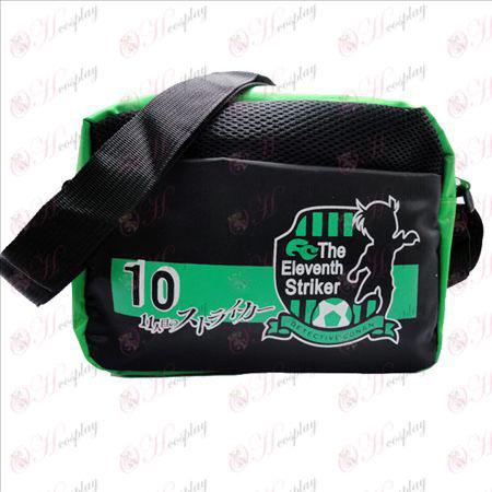 Conan 16 anniversary of green nylon small bag