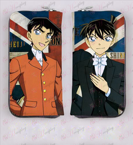 Conan zipper long wallet 4048