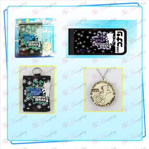 Conan the fifth anniversary of the necklace fold wallet combo (necklace random distribution) `