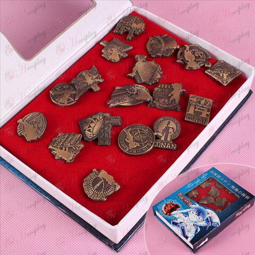 Conan 17th anniversary brooch