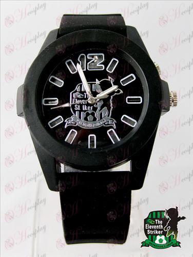 Conan färgglada blinkande lampor Watch - Black