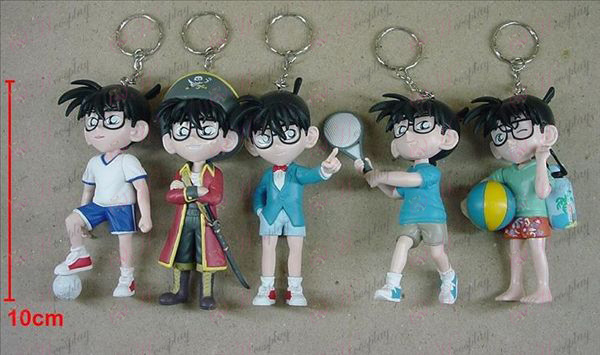 9 on behalf of five models Conan keychain