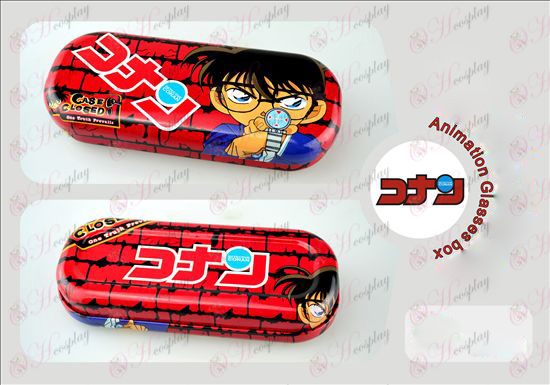 Conan character glasses case