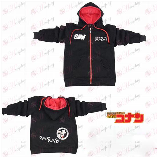 Conan 16 anniversary logo zipper hoodie sweater