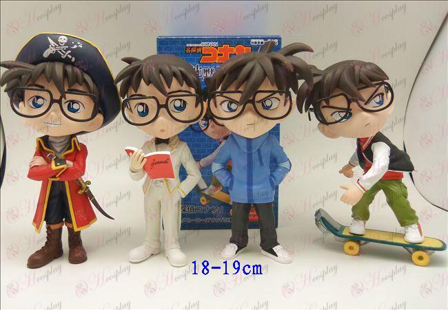 Genuine 4 modelos de mano grande hacer Conan